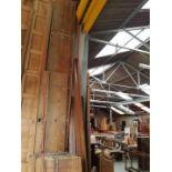 Extra Wide 1870 Seasoned Antique Pine planks pew seats