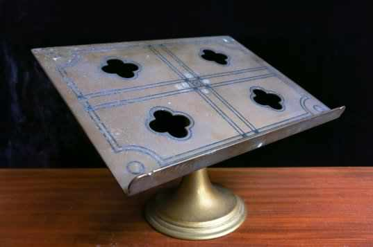 Brass Missal Stand from St Richards Catholic School - Image 4 of 6