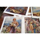 Folio of Bible Posters and Art Prints