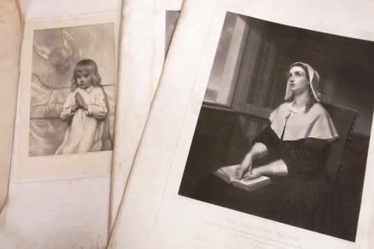 Folio of Religious Prints and Artwork - Image 6 of 14