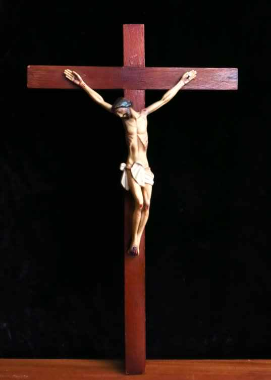 Vintage Plastic Crucifix
