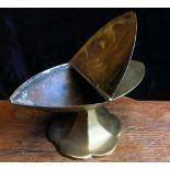 Victorian Brass Incense Boat