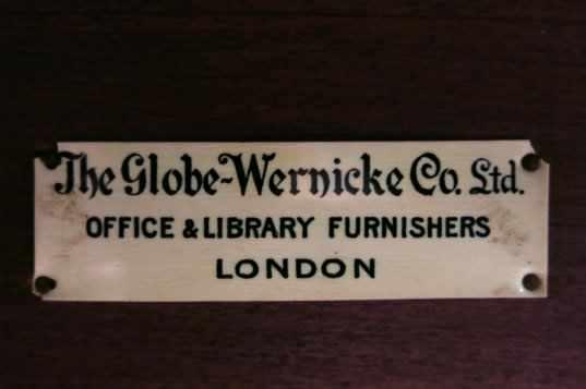 Genuine Globe Wernicke 1930s Modular Bookcase - Image 3 of 4