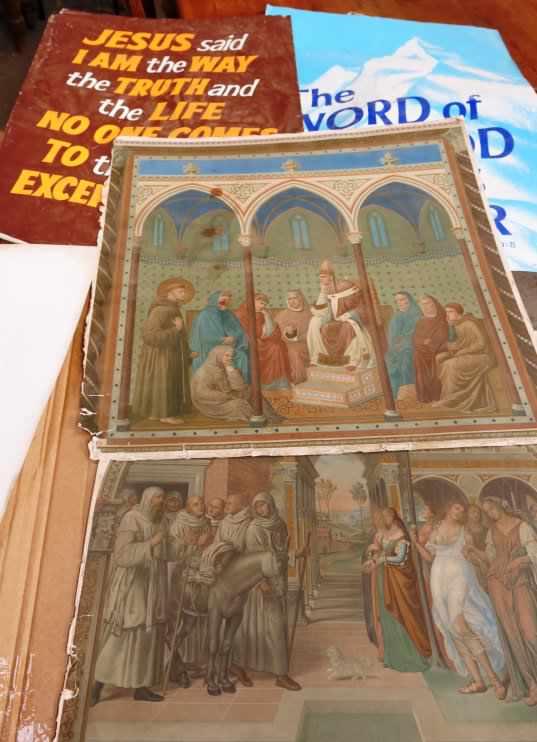 Folio of Religious Prints and Artwork - Image 8 of 14