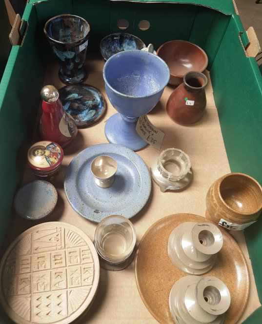 Collection of Ceramic and China Religious Ware - Image 2 of 4