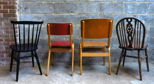 Four mixed Contemporary Chairs - Image 2 of 2