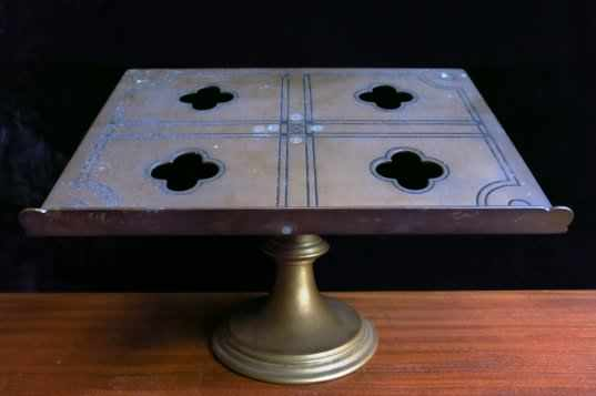 Brass Missal Stand from St Richards Catholic School - Image 2 of 6
