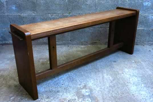 Felbridge High Oak Bench
