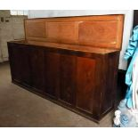Extremely Large Oak Altar Vestment Chest