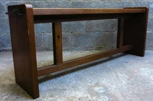 Felbridge High Oak Bench - Image 3 of 8