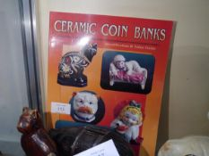 Ceramic coin banks identification value guide by Tom and Loretta Stoddart