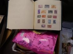 An extensive stamp collection, GB, Commonwealth and World, mostly 20th century, including an album