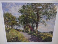 After James McIntosh Patrick, Summer in Angus 1960, limited edition print 528 of 850, signed in
