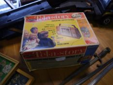 A vintage Palitoy Tel-a-Story boxed creative entertainer game, c. 1970