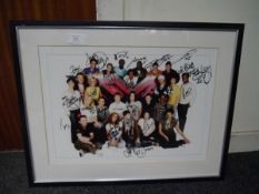 X Factor 2006 finialists signed photograph including Leona Lewis and Ray Quinn