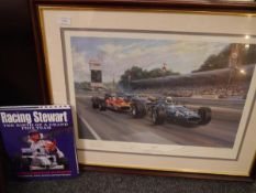 Racing Stewart The Birth of a Grand Prix Team by Maurice Hamilton and John Nicholson, foreword by