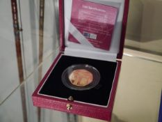 A Royal Mint centenary of the Women's Social and Political Union (suffragettes) 22ct gold 50p