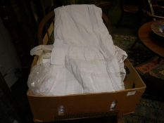 Group of late 19th/early 20th century cotton garments including christening robes, petticoats etc