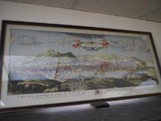 "After John Slezer, an Edinburgh panorama, ""The North Prospect of the City of Edinburgh"", engraved"