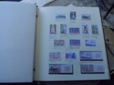 An album of French stamps mainly mint from 1978-88