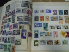 A Black Meteor stamp album with a world collection (28)