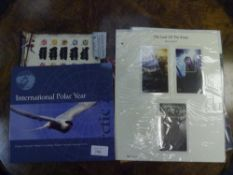 """A group of sets of collector stamps comprising """"Post Greenland International Polar Year 2007"""", """"Isle"""