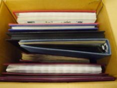 A group of assorted albums, stock albums of stamps including Old Strand album (24)