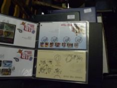 Three albums of approximately 200 GB Royal Mail First Day Covers 1998-2012 including London