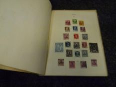 An album of German stamps inclulding Third Reich period (39)
