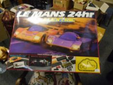 A Scalextric boxed game Le Mans 24hr