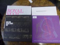 """Royal Mail Special Stamps cased collections comprising """"Journey Behind the Stamps"""" 2002 2007 2006"""