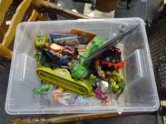 A group of 1980s Mattel He-Man Masters of the Universe figures, vehicles etc