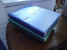 Four binders of World stamps mainly European