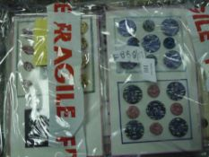 Fifteen sheets of mid-20th century fashion buttons (some in original packaging), shell, horn and