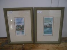 A pair of Gillian McDonald (Scottish, Contemporary) limited edition prints, Croft I and Croft II,