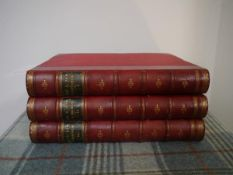"James Grant, ""Old & New Edinburgh"", pub. Cassell, Petter, Galpin & Co., three volumes leather"
