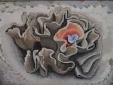 Keith Henderson (Scottish, 1883-1982), The Flower that never Fruited, oil on canvas, framed, label