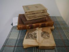 A group of volumes of Scottish interest comprising: seventeen volume of W. & A.K. Johnston's Clan