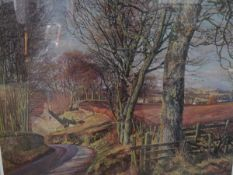 James McIntosh Patrick R.S.A. (Scottish 1907-1998), a limited edition print, Cottage in a Wooded
