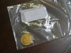 GB coins; a William IV gold full sovereign, 1837