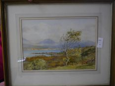 Frank Egginton (1908-1990), The Kenmore River, Co. Kerry, signed lower right, watercolour, framed.