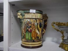"""A Royal Doulton """"The Dickens Jug"""", moulded in relief with characters from the novels, designed by"""
