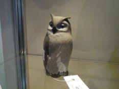 A Royal Copenhagen porcelain model of an owl, no. 2999.
