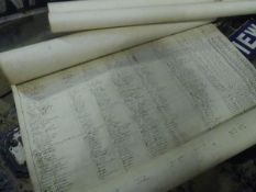Two 19th century Railway Incorporation documents for the Berwickshire Railway, each dated 1862,