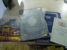 A group of Coronation memorabilia comprising: A Form and Order of Service for the Service at