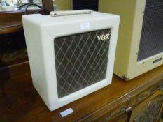 A Vox AC4TV practice amp