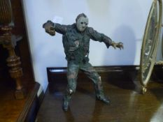 A large fantasy figure of Jason from Friday 13th, by NECA 2003