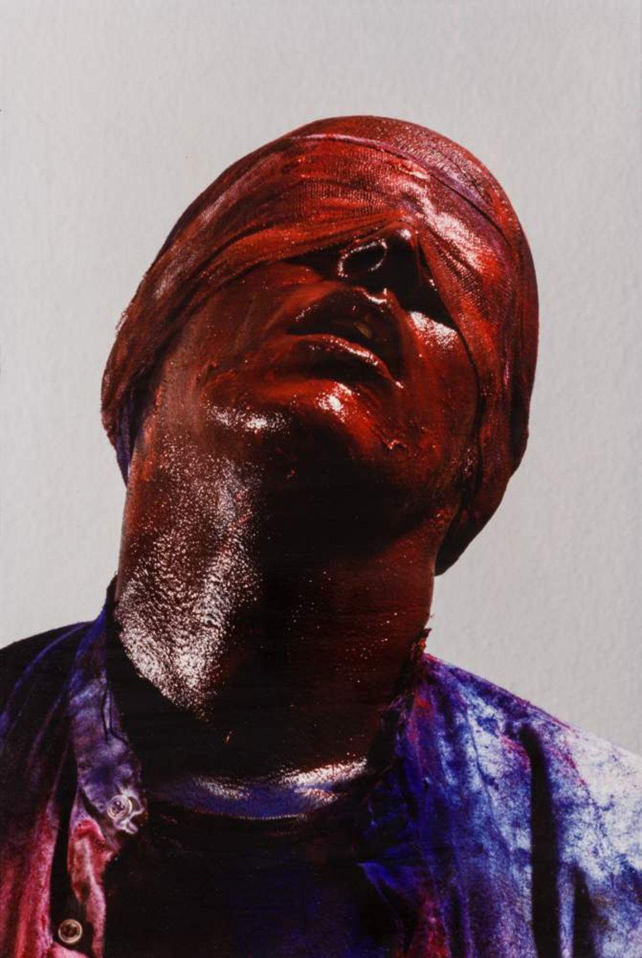 Gottfried Helnwein (Wien 1948 geb.)  Selbstporträts / Self-portraits 3 Cibachrome aus den Serien - Image 3 of 3