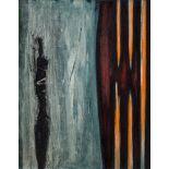Erwin Bohatsch (Mürzzuschlag 1951 geb.)  Einsiedler Öl auf Leinwand 70 x 55 cm 1986 rückseitig