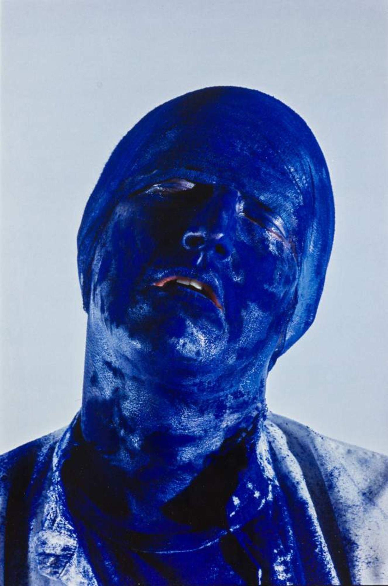Gottfried Helnwein (Wien 1948 geb.)  Selbstporträts / Self-portraits 3 Cibachrome aus den Serien - Image 2 of 3